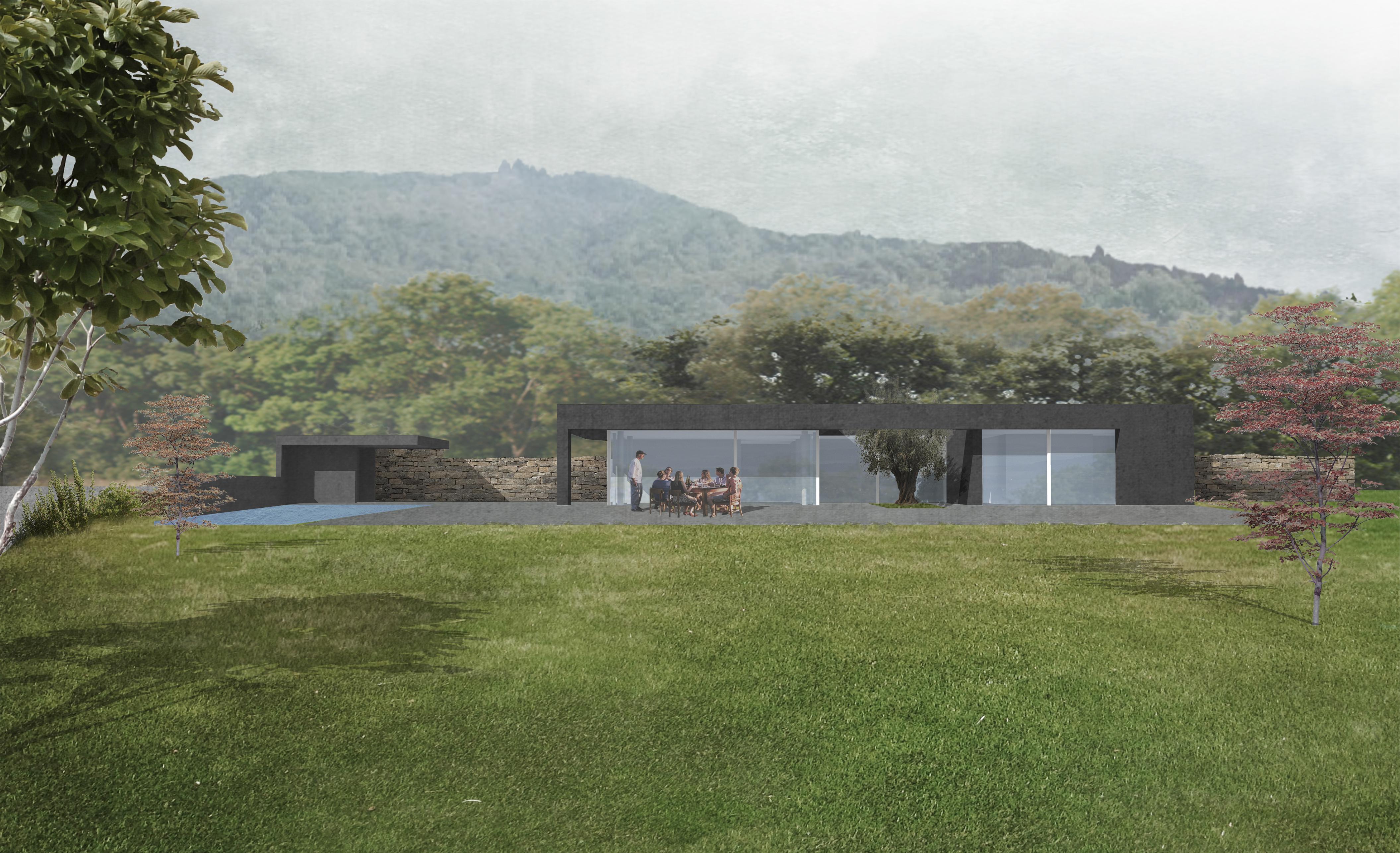 CONSTRUCTION D'UNE VILLA AVEC UN PATIO, AUVERNIER (NE), 2019